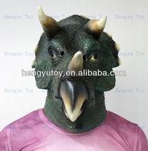 Hit! HUIZHOU 2014 Hotsale Devil &Horror Halloween latex rhino mask