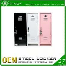 made in china kids mini lockers/pink metal lockers/child furniture