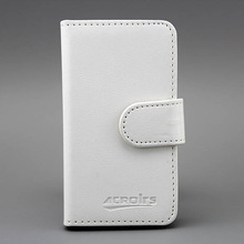 Small Moq Crystal Leather back case cover for samsung galaxy s duos s7562