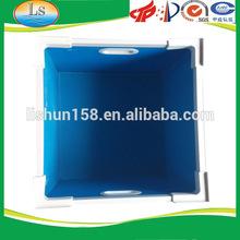 Chinese Manufacture Blue 4mm Coroplast Correx Rigid 100% PP Nontoxic Plastic Handle Case
