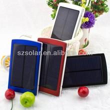 10000mAh Dual USB Portable Mobile Solar Charger