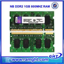 Bulk packing tested laptop sodimm 1GB ddr2 ram price