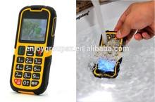 Rugged style hong kong cheap price mobile phone waterproof phone W28