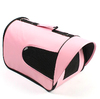 Pet travel carrier bag,mesh pet carrier