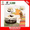 Cake shape girl dog house plush