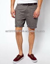 Direct buy china man chino shorts with screen printing