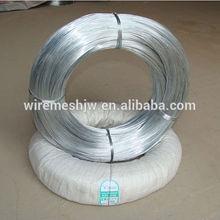 le placage de zinc plongé chaud fil de fer galvanisé iso9001 usine vente chaude
