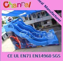 Spiderman huge slide inflatable giant slide