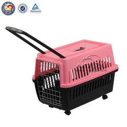 Made in China Plastic Colorful Small Pet Cage
