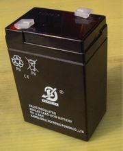 Deep recycle dry gel battery manufacturer 6v4ah