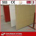 caliente la venta de arena de color beige de bajo precio de piedra de cuarzo artificial pizarra qz654