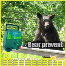 Bear prevention detection solar power 12V electric fence energizer units