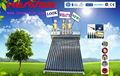 حار بيع بأفضل سعر 180l المحلية الحرارة أنبوب ضغط ضغط سخان المياه بالطاقة الشمسية الصين المورد الذهبي بابا
