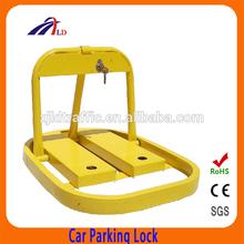 Automatic remote control car parking lock