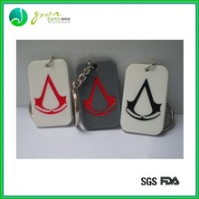 Hot Sale Popular Colorful silicone costumized dog tags
