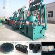 High Efficiency Punching Type Honeycomb Lignite Briquette Machine