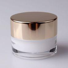 aluminum cap acrylic jar cosmetic