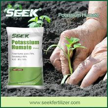 SEEK potassium humate liquid fertilizer