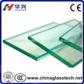 aprobado por la ce fábrica producir flotador de vidrio templado laminado del producto
