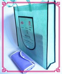 recycle wallet shaped folding non woven bag