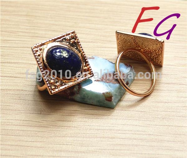 Sp-ri-0003 satın muşta, doğal lapis lazuli halkası