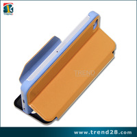 China manufacture privacy screen protector leather case for iphone 5
