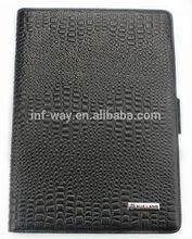 Luxury Crocodile Smart Cover leather case for ipad2&ipad3&ipad4