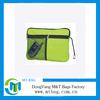 Green color fashionable printed mini ziplock handle bag