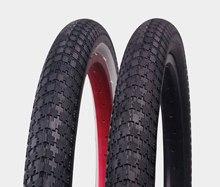 """P1042 20 polegada 2.35 """" l' couleur bmx pneus de vélo rose et noir bmx vélo"""