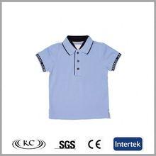 best selling 100% organic cotton uk blue blank boys stylish t-shirt designs