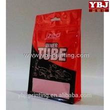 cheap transparent vinyl zipper bags/bottom gusset bag for packing