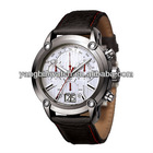 Buy chinese products online hot sales Japan movt waterproof leather bracelet watches