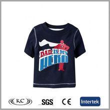 high quality best selling 100 cotton black fashion girls school t-shirt