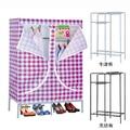 Sw mobília do armário de armazenamento à prova d ' água mobiliário de escritório não tecido dobrável armário guarda-roupa de tecido
