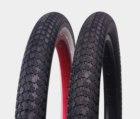 "P1042 20 Inch 2.35"" whitewall coloured bmx bike tires 10 inch mini bmx"