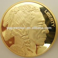 high quality custom fake gold coins