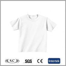 sale online 100% organic cotton fashion white polo boy customized t-shirt