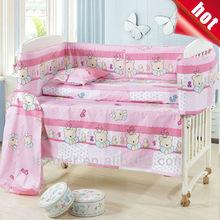 baby girls cribs babies brand bedding set family linen