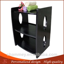 wooden modern metal makeup cart wood cheap mdf and medical cart