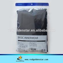 Garment packaging zipper poly bag