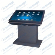 Touch advertising machine touch screen panel pc computer i5 advertising tote