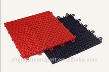 2014 Hot sale High quality modular tile,Suspended outdoor PP interlocking sports floor tiles badminton flooring