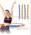 Massagem de Fitness hula hoop magnético