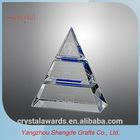 Optical Unique crystal pyramid
