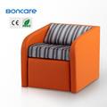 pequena massagem sofá cama com único elétrica coxim traseiro da massagem