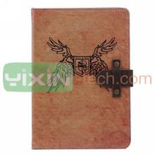 for iPad Mini 2 Case, for ipad retina retro case, flip leather case for ipad