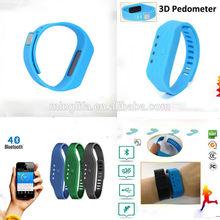 outdoor fitness equipment bluetooth vibrating bracelet like jawbone up 24