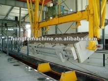 AAC autoclaved aerated concret block production line , light weight foam block / brick plant