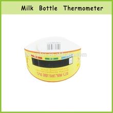 Baby Liquid Crystal Digital Plastic Milk Bottle Plastic Temperature Thermometer