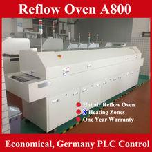 alta produttività ha portato la catena di montaggio macchina di saldatura reflow a800